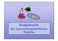 Mag. Faber - Elternabend 4.Klassen 2007