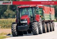 SPEC MAXXUM 125 - Case IH