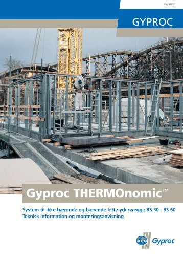 Thermonomic 2003 - Gyproc