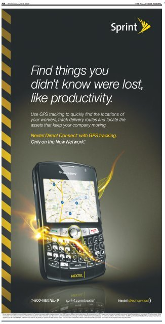 use gps to track sprint phone
