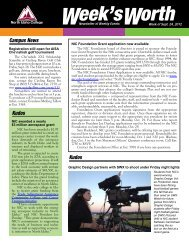 Campus News - North Idaho College