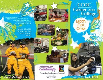 CCOC Career AND College - Metropolitan Education District