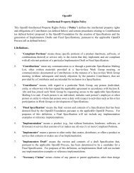 OpenID IPR Policy (Circulation Draft 20071115).pages