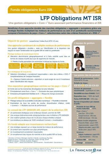 Bénéficiez d'une approche durable des marchés ... - La Française AM