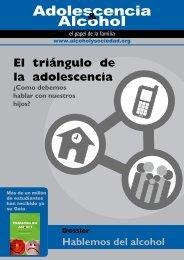 El triángulo de la adolescencia - Fundación Alcohol y Sociedad