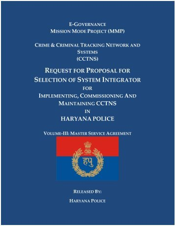HARYANA POLICE - National Crime Records Bureau