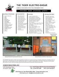 The Tiger Electro-Shear - Komar Industries