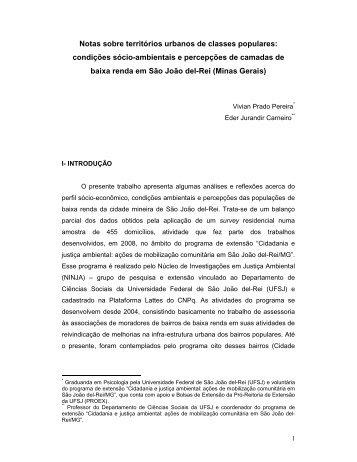 Artigo vivian.pdf - Mapa de Conflitos Ambientais de Minas Gerais