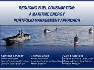 maritime energy portfolio process - E2S2