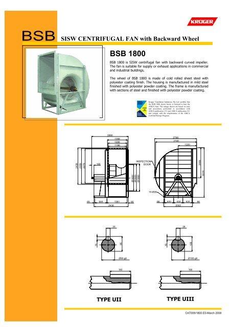 BSB 1800 - Kruger Ventilation