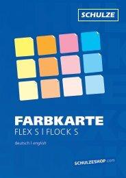 Farbkarte Flex S | Flock S