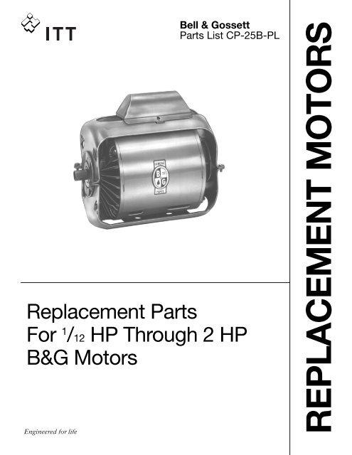 bell amp gossett motor parts industrial controls bell & gossett motor parts industrial controls