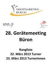 Rangliste Getu: Meeting Büron 2013 - STV Beromünster