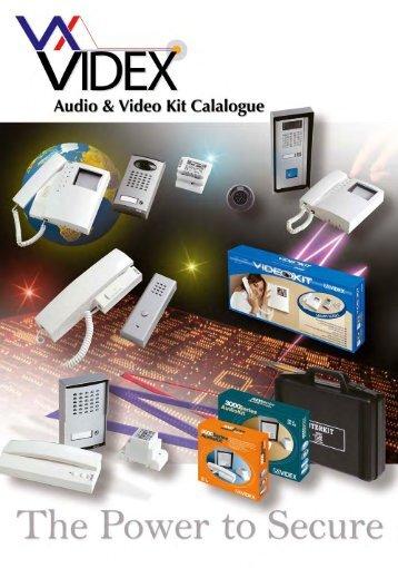 Videx Kit Brochure 2010 Door Entry Systems