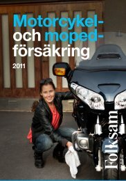 Motorcykel- ochmoped- försäkring - Folksam