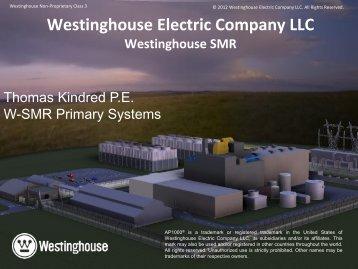 Westinghouse SMR Program - UxC
