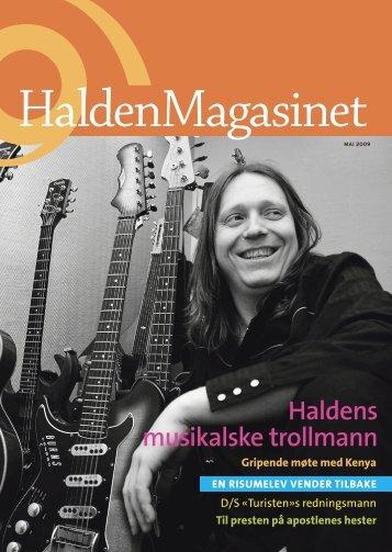 Halden - Byline
