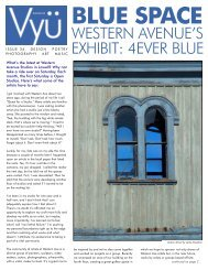 WESTERN AVENUE'S EXHIBIT: 4EVER BLUE - Vyu Magazine