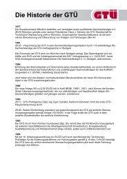 Die Historie der GTÜ (pdf, 75.4 kB)