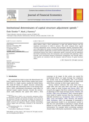 determinants of capital structure in pakistan Industry of pakistan dr aurangzeb hod, business administration,  this study examines the determinants of capital structure in textile industry of pakistan on a data for the period of 2004 to 2009 multiple regression technique is used to analyze the  capital structure determinants (attaullah et al, 2004.