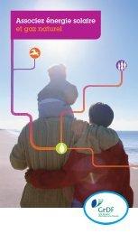 Associez énergie solaire et gaz naturel - GrDF