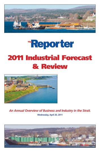 2011 Industrial Forcast & Review.pdf - The Pictou Advocate