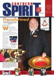 Transformed - The Salvation Army USA (Southern Territory)