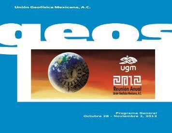 Programa General, Reunión Anual 2012, UGM