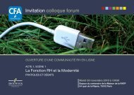 Invitation colloque forum - C2RP
