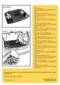 ŠkodaFabia Combi (5J) Vana zavazadlového prostoru ... - Page 2