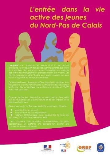 L'entrée dans la vie active des jeunes du Nord-Pas de Calais - C2RP