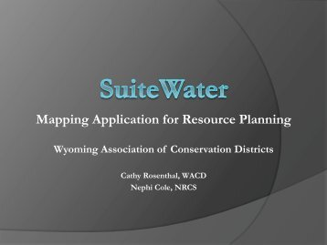 Mapping Application for Resource Planning - National Association ...