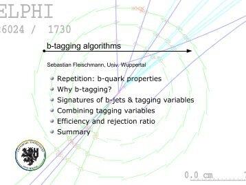 b-tagging algorithms - fleischmann-netz.de