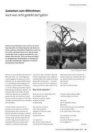 GEMEINDEzeitung der Martin-Luther-Gemeinde, Ausgabe Oktober