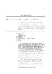 ACTUALIZACIONES Diagnóstico y manejo clínico del paciente con ...