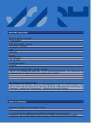 Generelle oplysninger Studie på Aarhus Universitet: Statskundskab ...