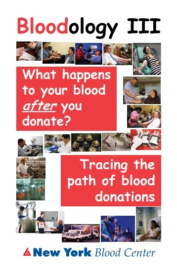 Bloodology 3 - What Happens to your Blood AFTER you Donate?
