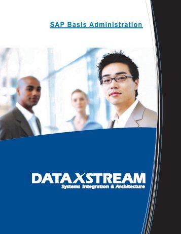 SAP Basis Administration - DataXstream