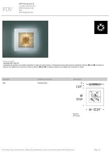 Product Detail - GONELLA LUCE Srl