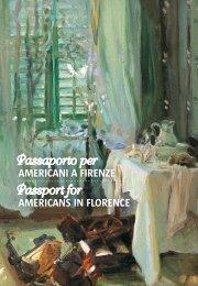Passaporto per Americani a Firenze - Palazzo Strozzi
