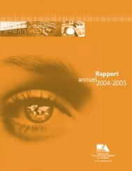 Rapport annuel - Ordre des évaluateurs agréés du Québec
