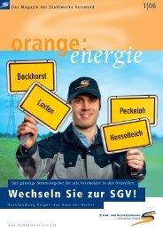 Energie - Stadtwerke Versmold