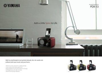 Layout 1 (Page 1) - Yamaha Hifi