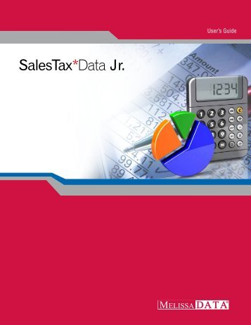 SalesTax*Data Jr. - Melissa Data