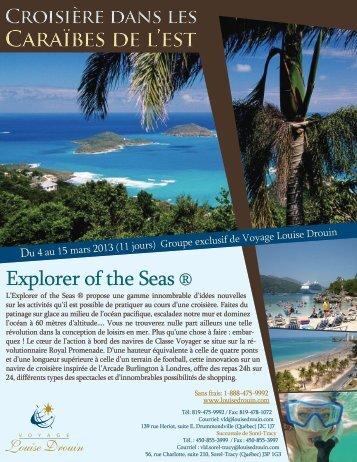 Caraïbes de l'est Caraïbes de l'est - Agence voyage Louise Drouin