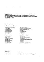 Handlungsempfehlungen zur Förderung und Stärkung des ...