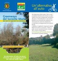 Opuscolo informativo greenways.pdf - Geo-Portale del Comune di ...