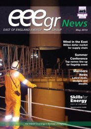 May 2010 - East of England Energy Group