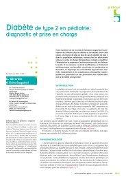 Rev Med Suisse 2007; 3: 1001-5 - HUG - Département de l'enfant et ...