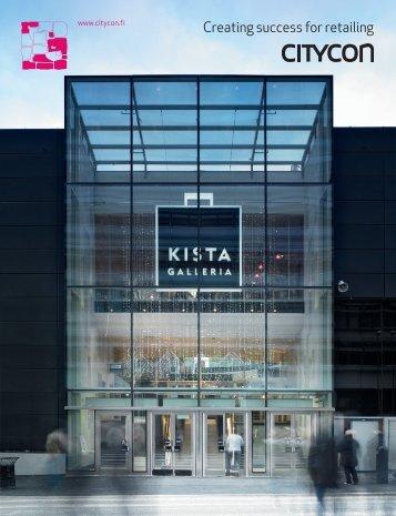 Citycon's Shopping Centre Brochure (PDF)